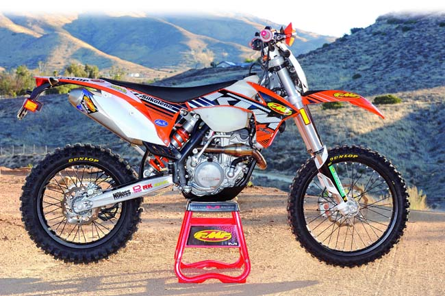 LIVING WITH THE KTM 350EXC | Dirt Bike Magazine