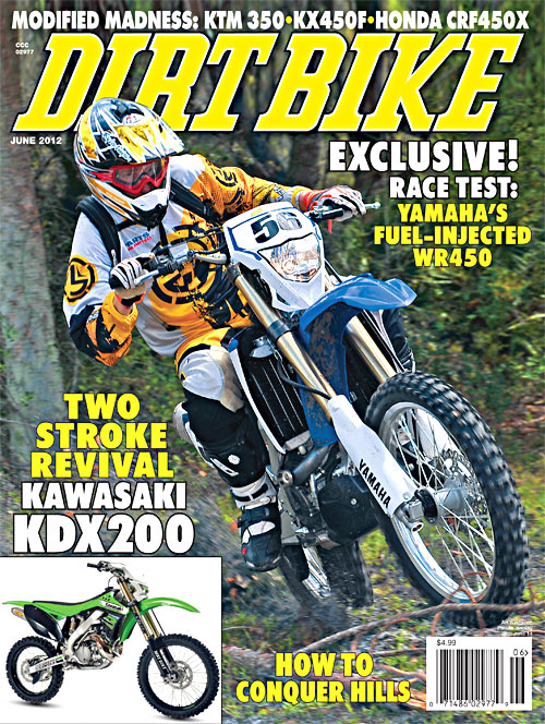 Db June Cover on Crf450x Fuel Injected
