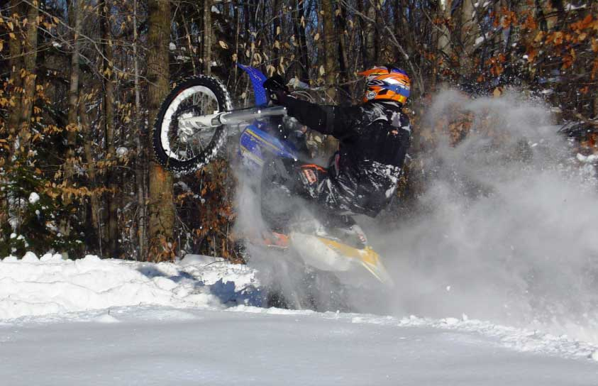 Snow Dirt Bike >> Cold Weather Riding Preparation Dirt Bike Magazine
