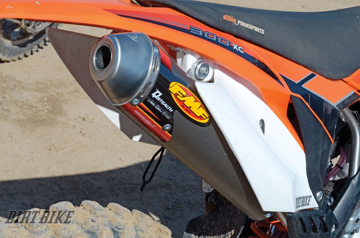 KTM 300 EXHAUST SYSTEMS | Dirt Bike Magazine