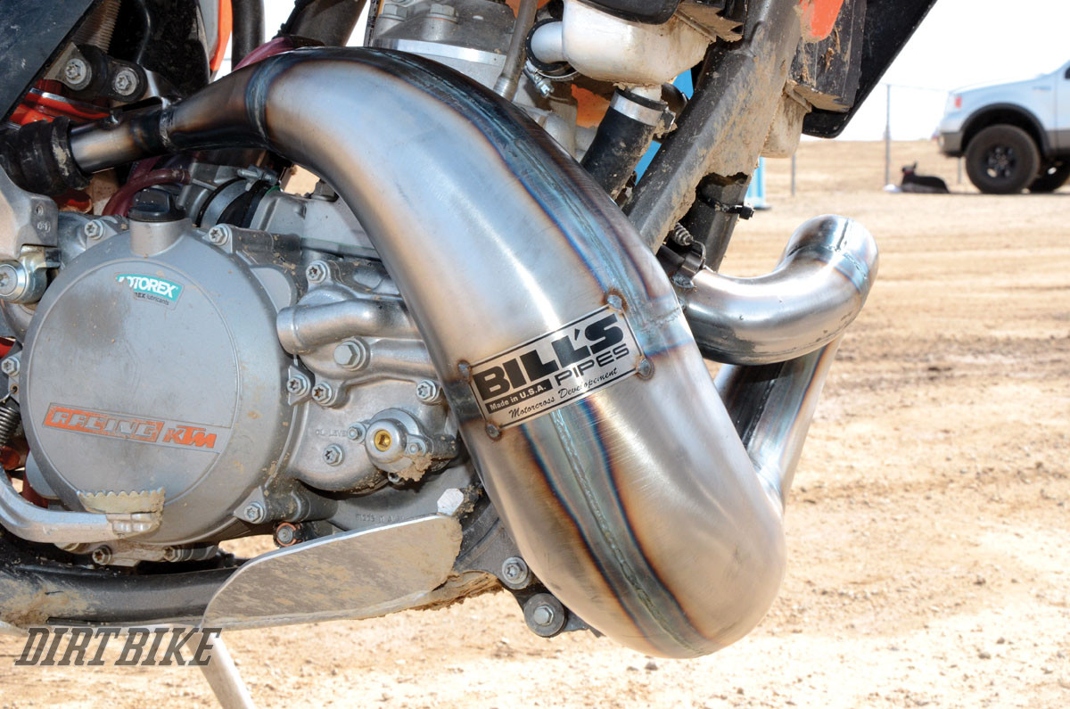 KTM 300 EXHAUST SYSTEMS | Dirt Bike Magazine