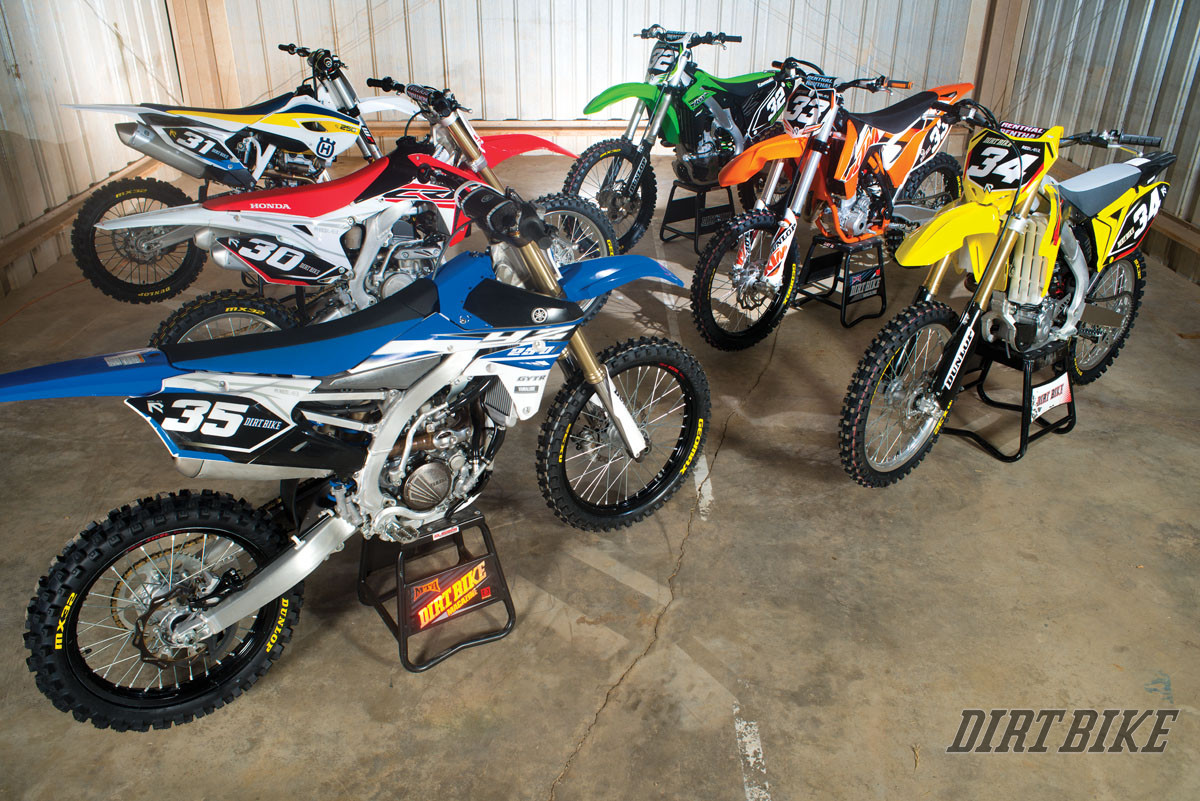 2015 250f motocross shootout dirt bike magazine. Black Bedroom Furniture Sets. Home Design Ideas