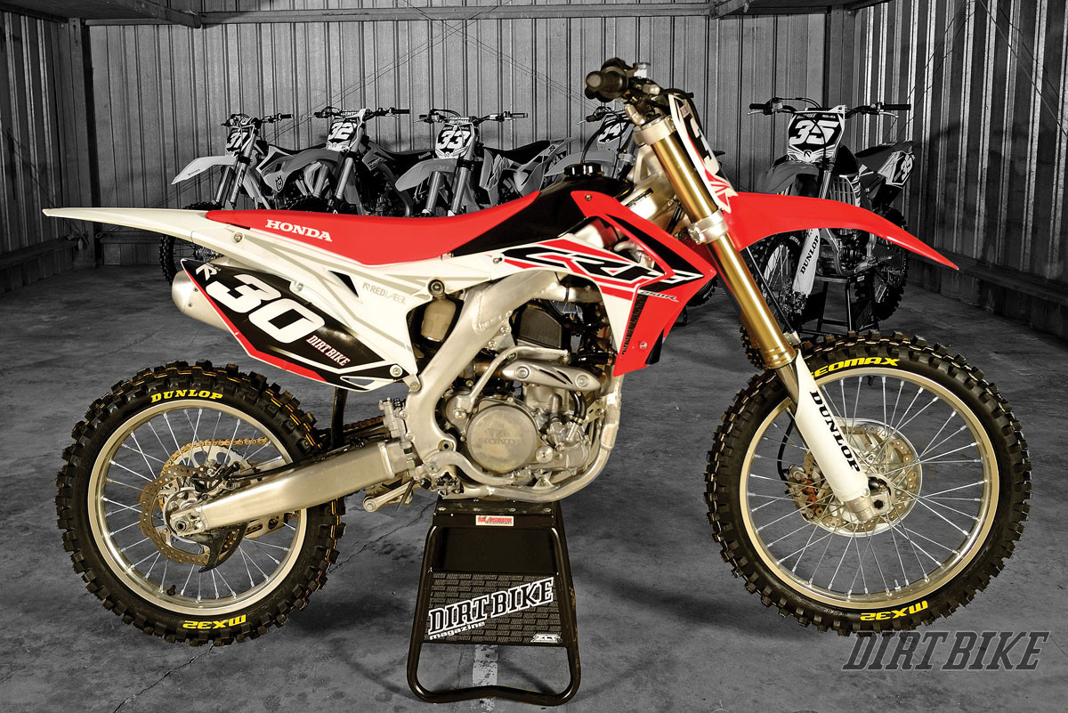 2015 250f Motocross Shootout Dirt Bike Magazine Crf 150 Honda Bikes