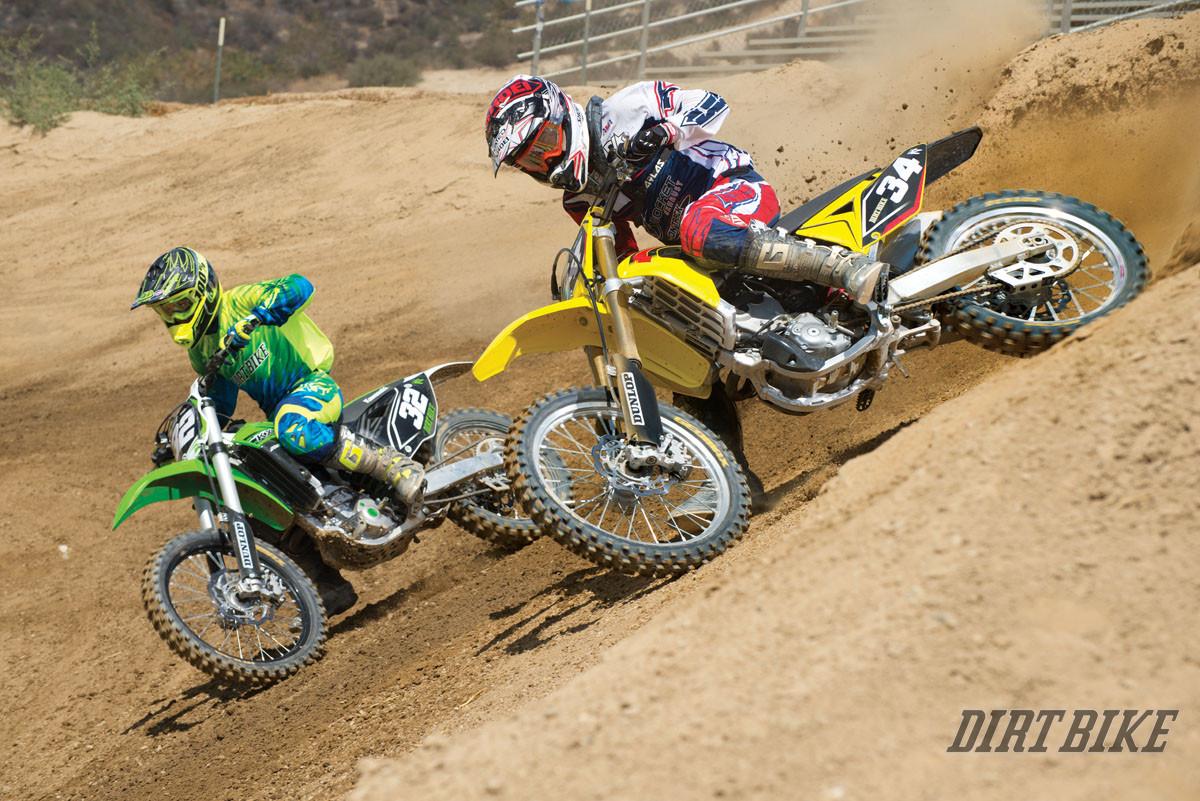 2015 250f motocross shootout dirt bike magazine for Science dirt