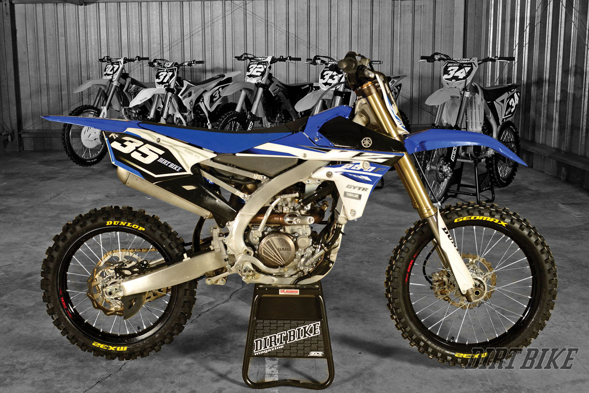 2015 250f Motocross Shootout Dirt Bike Magazine