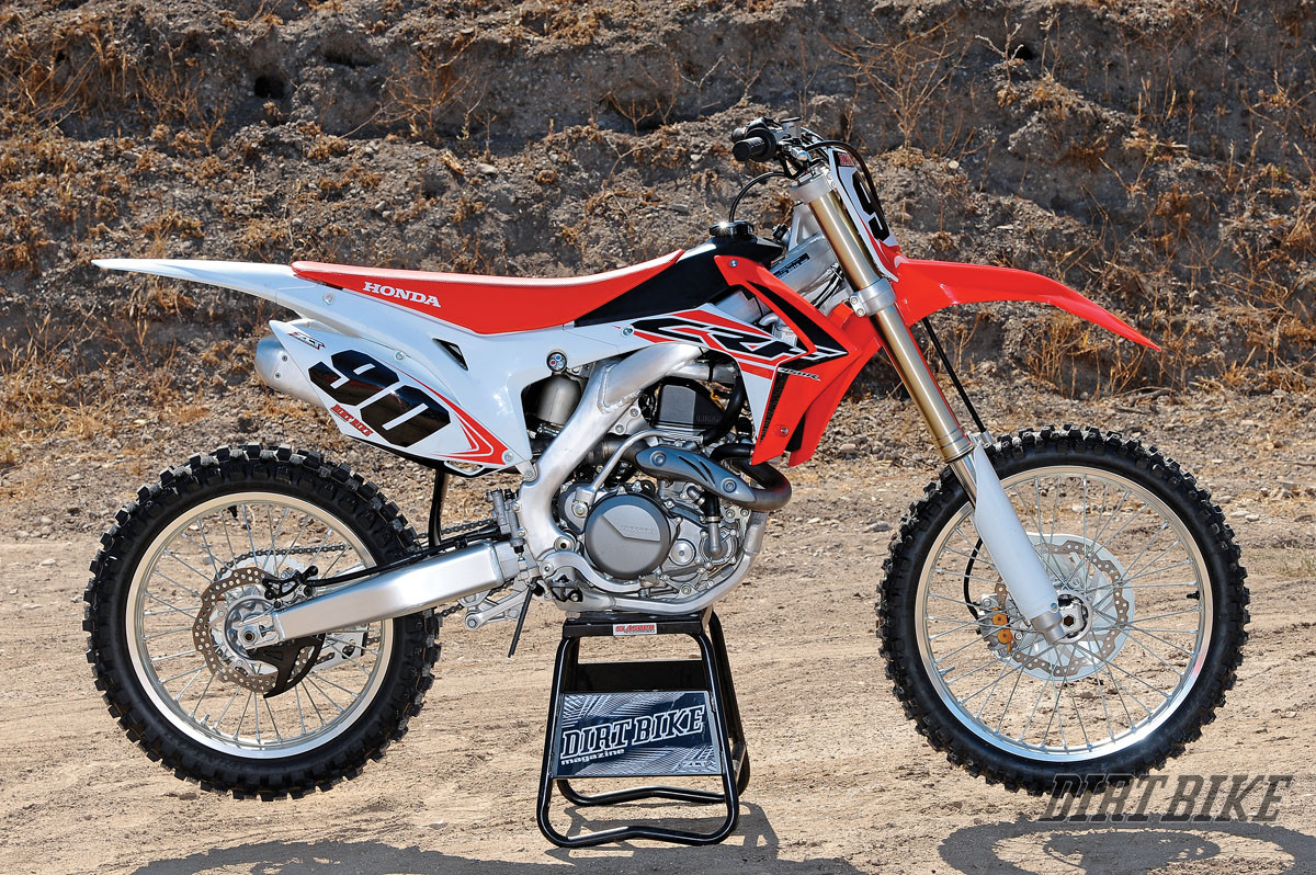 2015 Honda Crf450r Test Dirt Bike Magazine