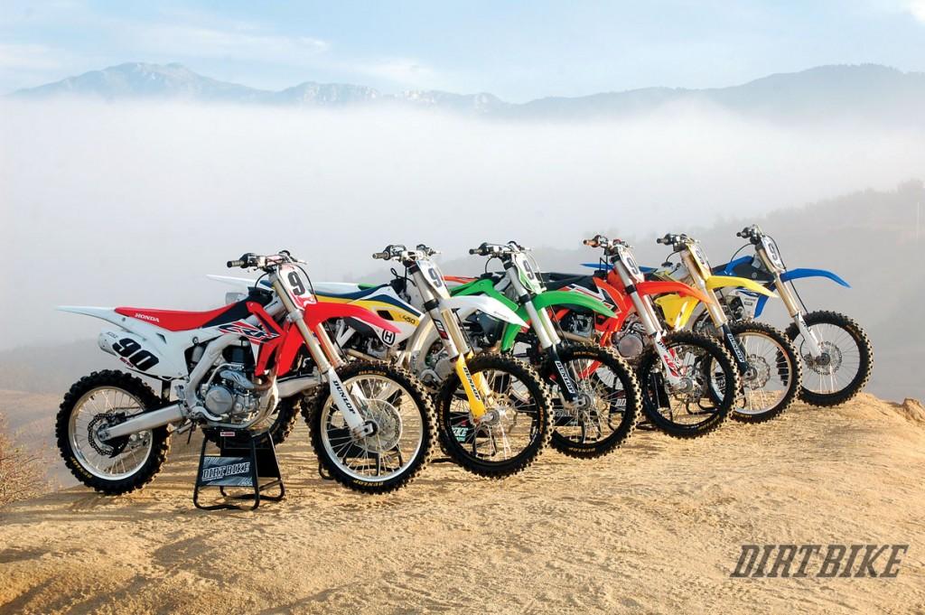 450 Mx Shootout How They Really Rank Dirt Bike Magazine