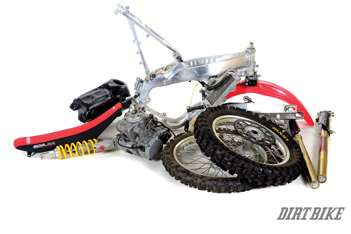 CR250R TWO-STROKE: PROJECT FRANKENBIKE | Dirt Bike Magazine