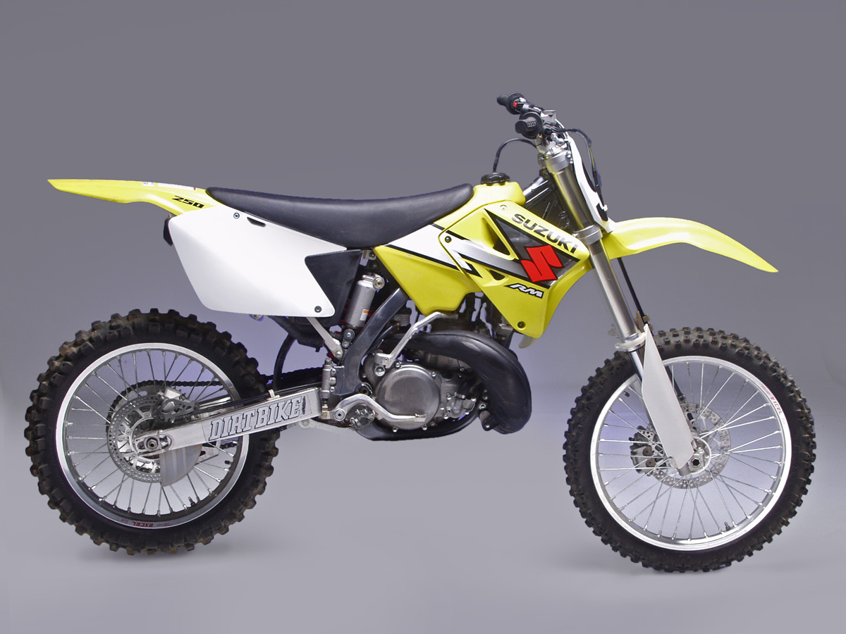 How Tall Is A Suzuki 125 Dirt Bike Best Used Ever Rm250 Magazine 2003