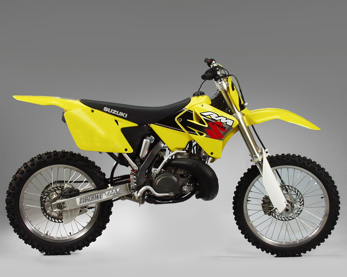 In 2001 the suzuki was very good aside from minor jetting issues