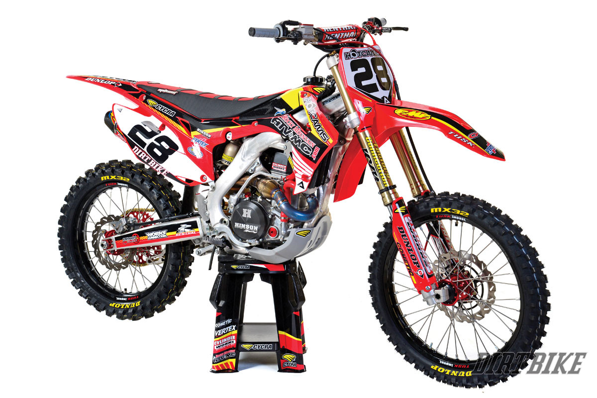 A VERY, VERY FAST CRF450R | Dirt Bike Magazine