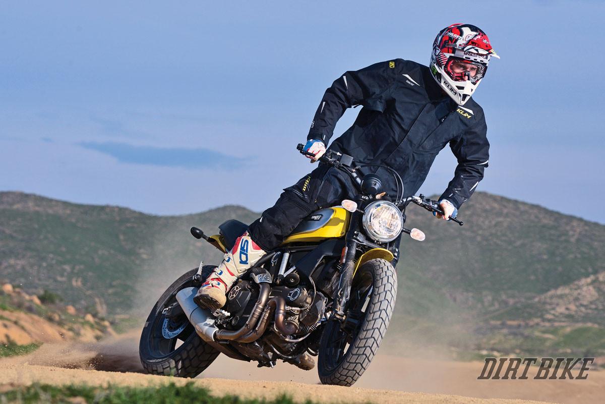 Triumph Scrambler For Adventure Touring