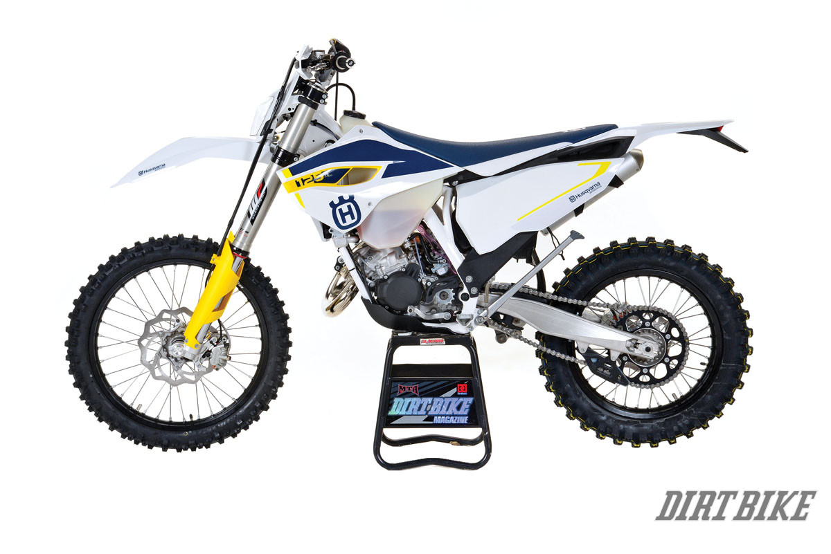 HUSKY TE125 2-STROKE | Dirt Bike Magazine