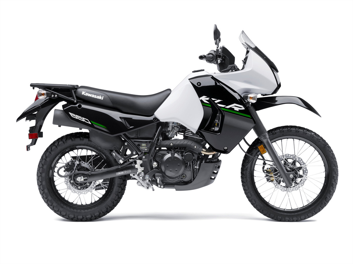 Kawasaki Gave The KLR A Stiffer Seat And Suspension Attention In 2014