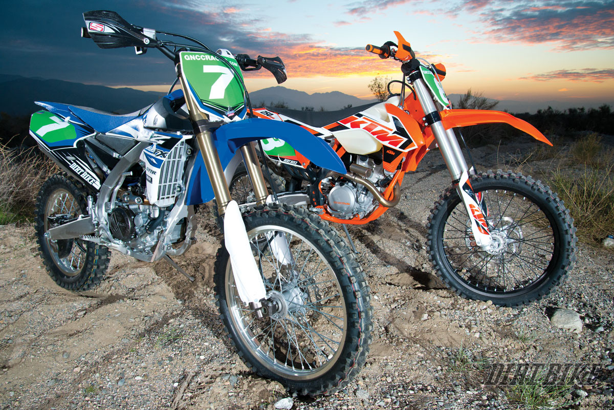 OFF-ROAD SHOOTOUT: KTM 250XCF VS YAMAHA YZ250FX | Dirt Bike
