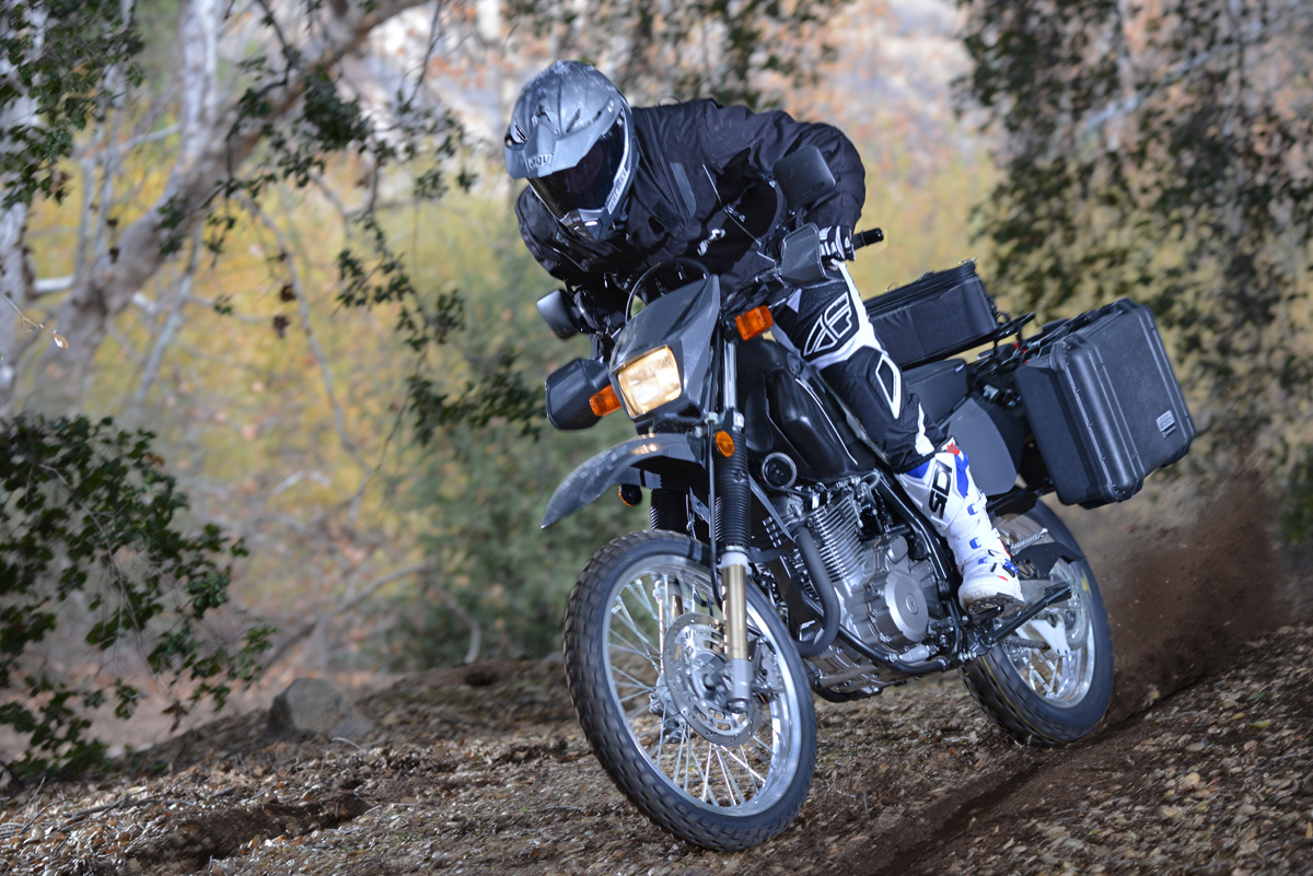 2018 suzuki dr650. plain 2018 back in 2013 we outfitted a dr650s with moose expedition rack and pelican  bags for 2018 suzuki dr650