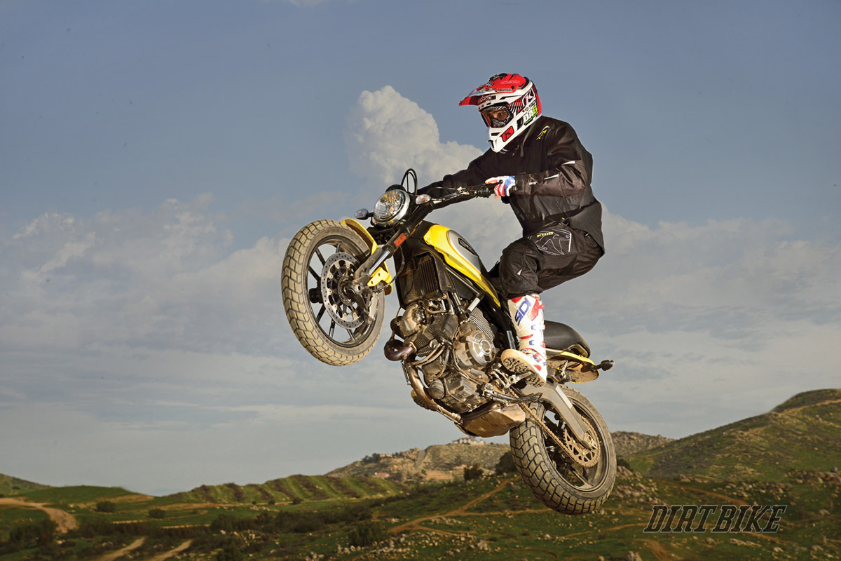 DUCATI SCRAMBLER OFF ROAD MONSTER