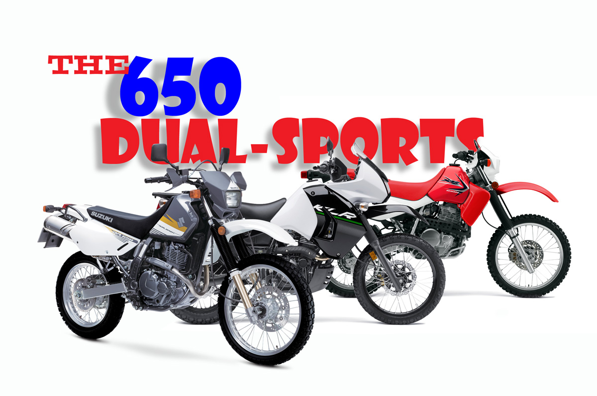 650 Dual Sport Adventure Comparison Dirt Bike Magazine