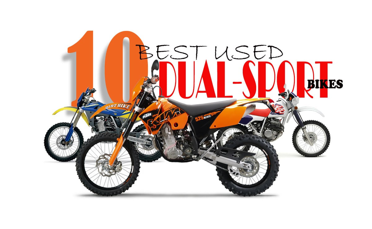 10 best used dual sport bikes dirt bike magazine. Black Bedroom Furniture Sets. Home Design Ideas