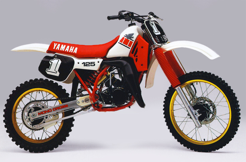 Yz125 the bike they can 39 t kill dirt bike magazine for Yamaha dirt bike plastics