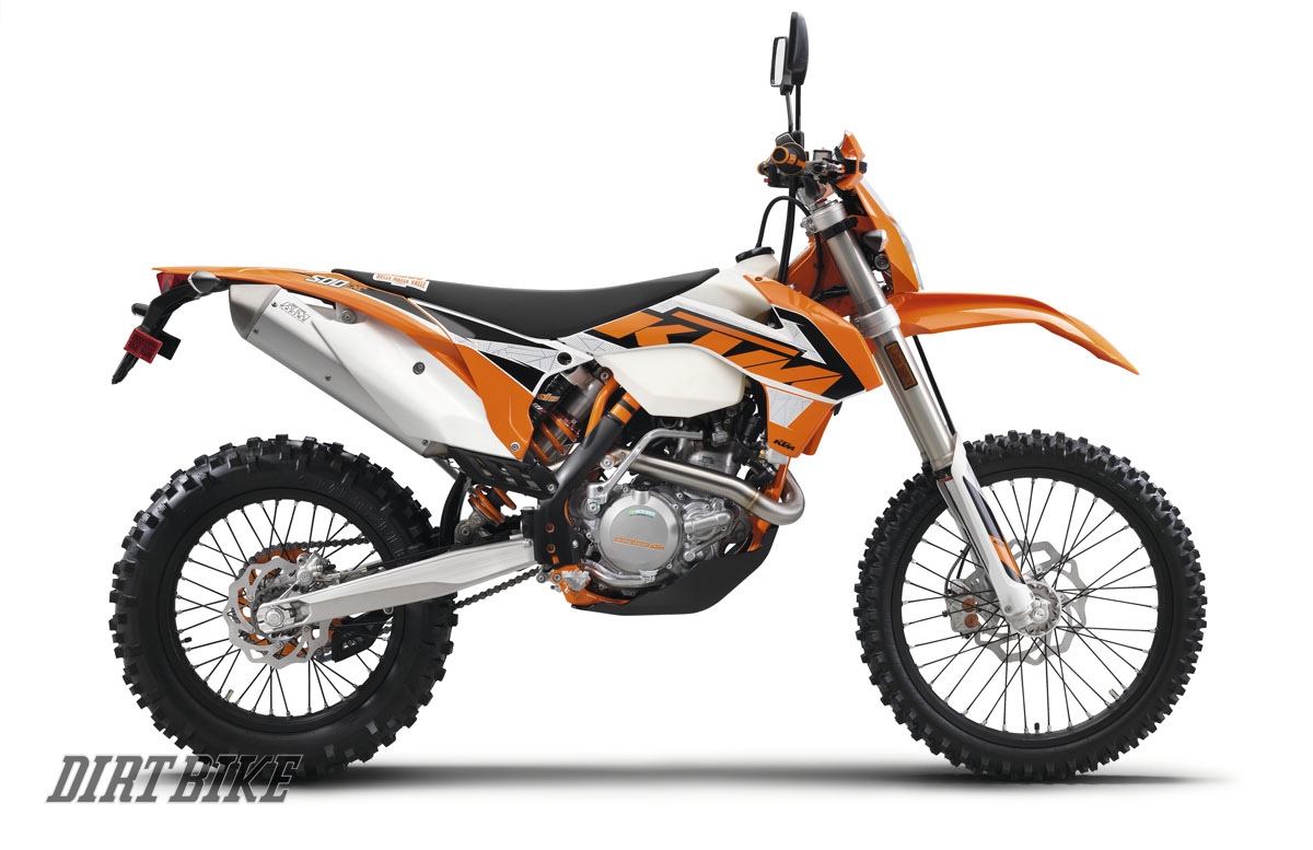 Ktm Engineers Devoted So Much Energy To The New Sx And Xc Models That We Would Have Forgiven Them If They Had Left Dual Sport Bike W Line