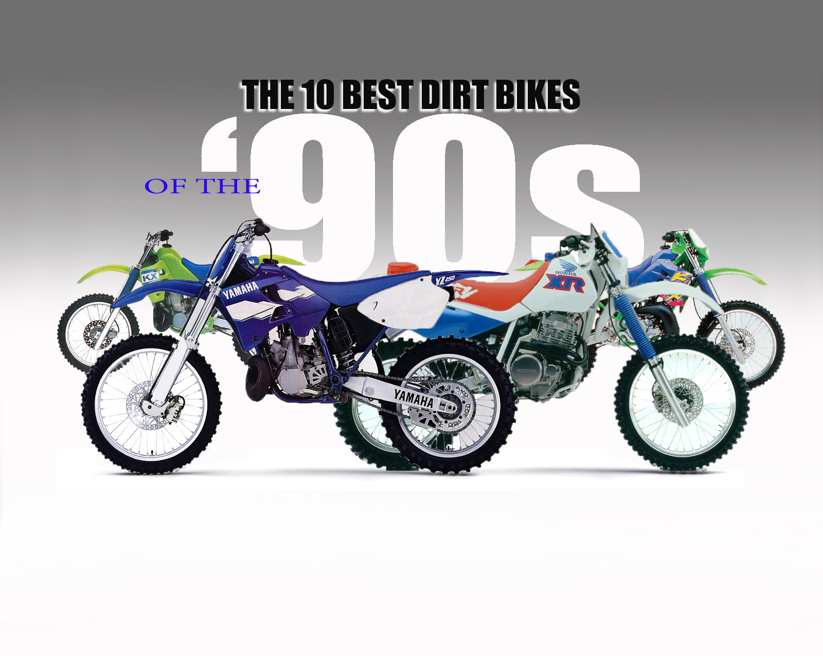10 BEST DIRT BIKES OF THE '90s | Dirt Bike Magazine