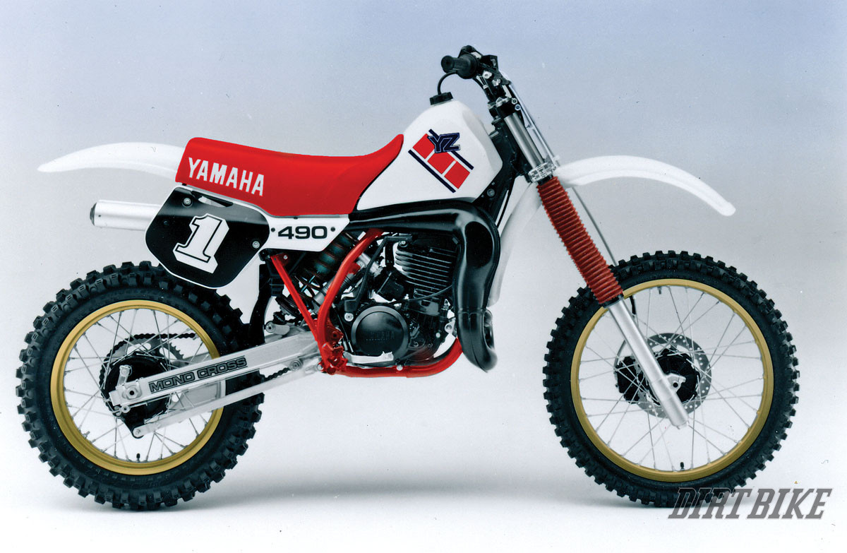 MX HISTORY THE YZ400 TWO STROKE
