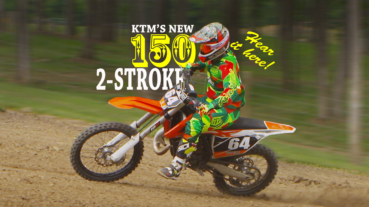 2016 Ktm 150 Sx In The Raw