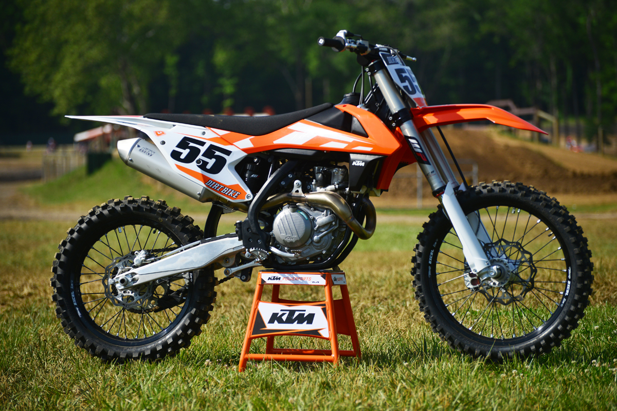 First Ride Ktm Xc F Amp Sx F For 2016 Dirt Bike Magazine