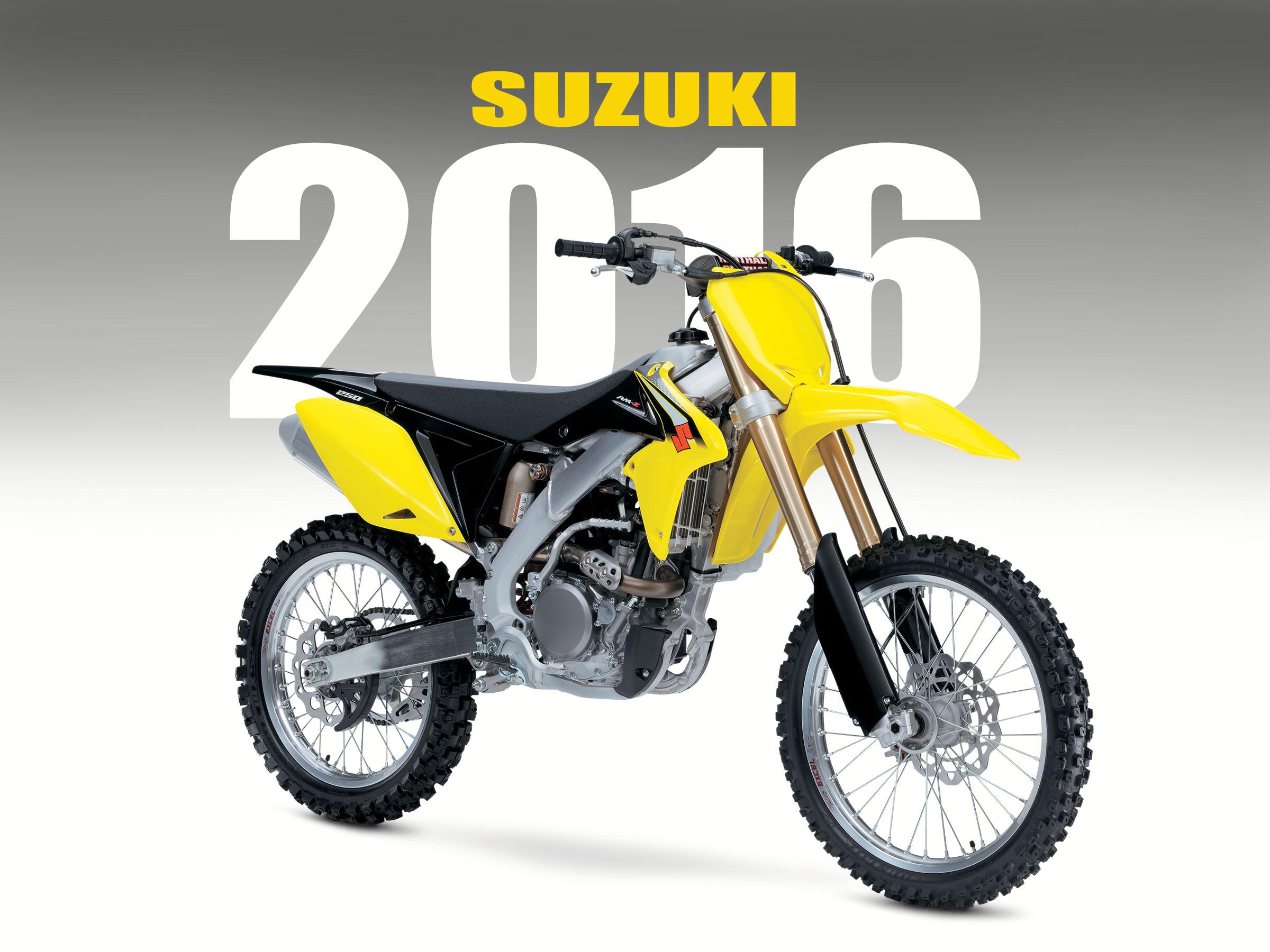 Suzuki Announces 2016 Off Road Bikes Dirt Bike Magazine