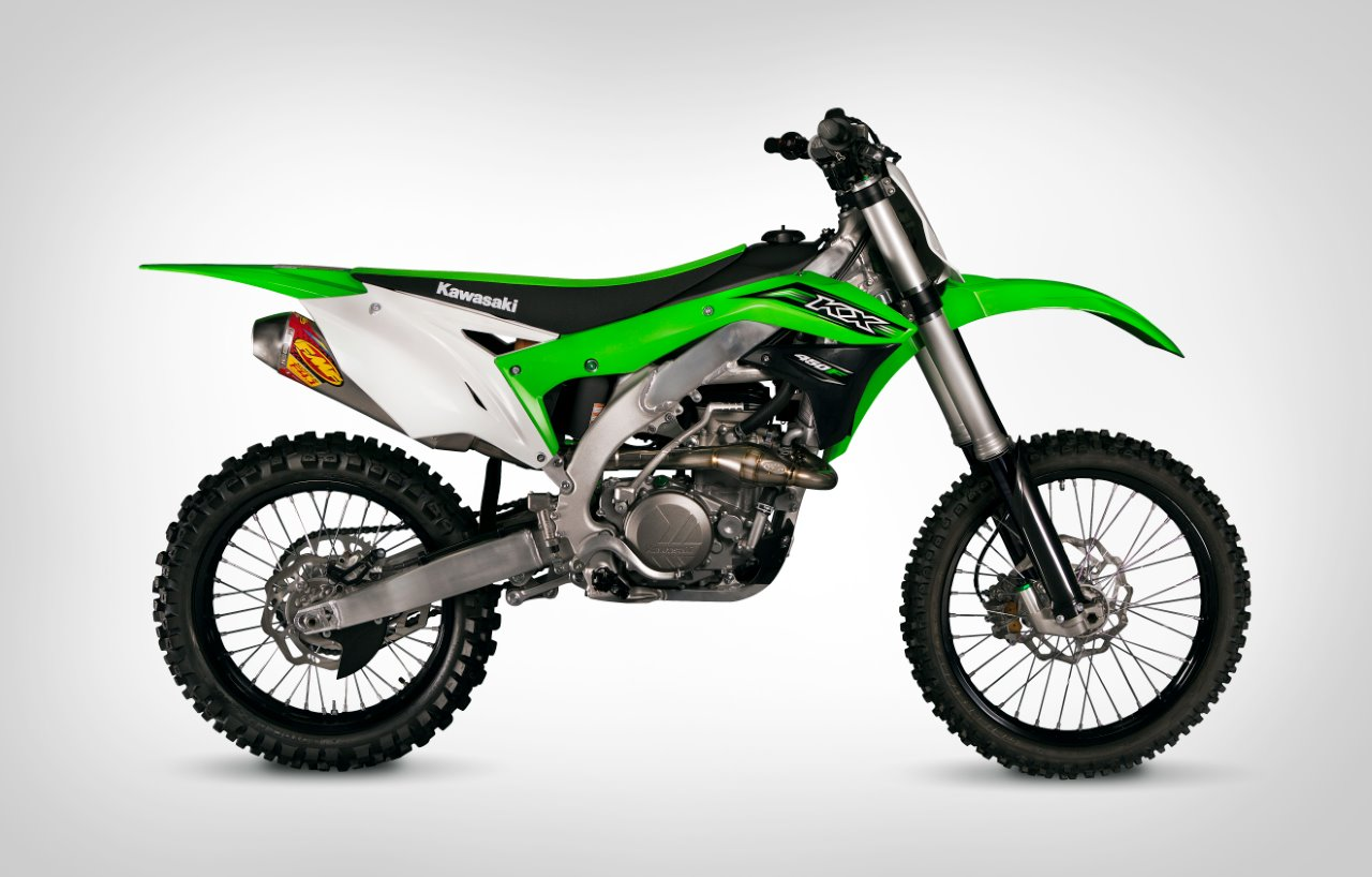 Performance Exhaust System >> FMF LAUNCHES 2016 KAWASAKI EXHAUST SYSTEMS | Dirt Bike Magazine