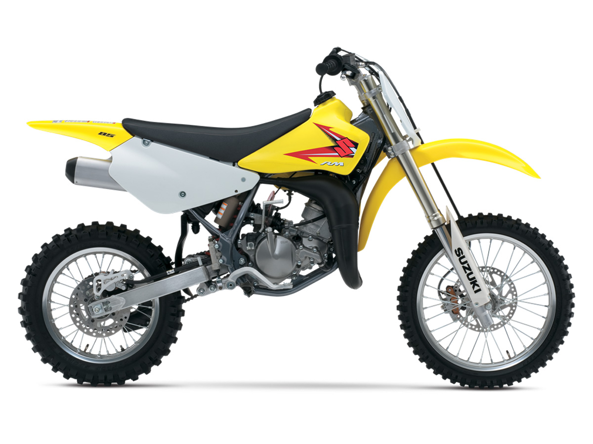 This is the lone two stroke in the suzuki line but we re happy to have it the rm85 motor has always been a favorite among engine
