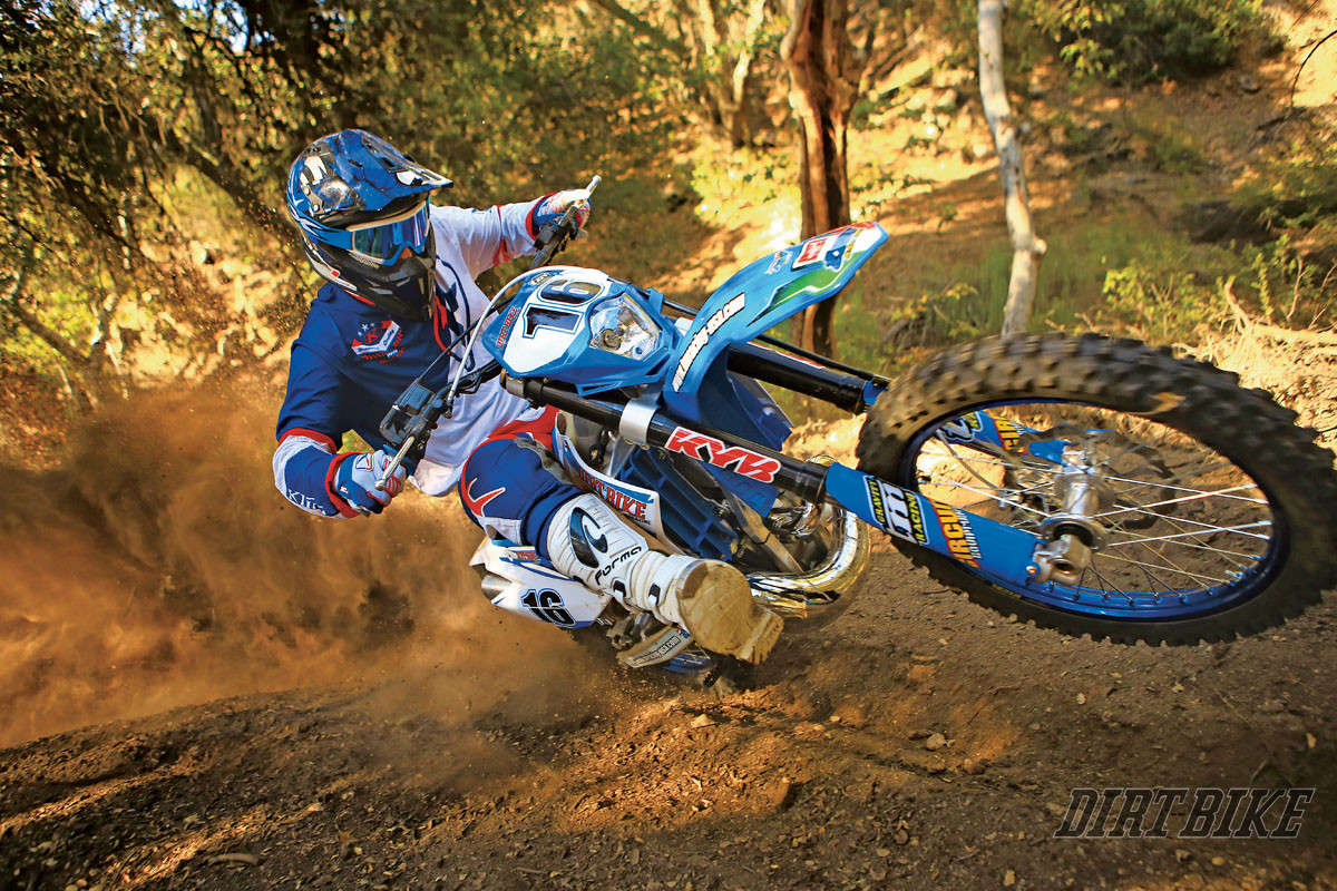 Tm Dirt Bikes >> Tm 300 2 Stroke Full Test Dirt Bike Magazine