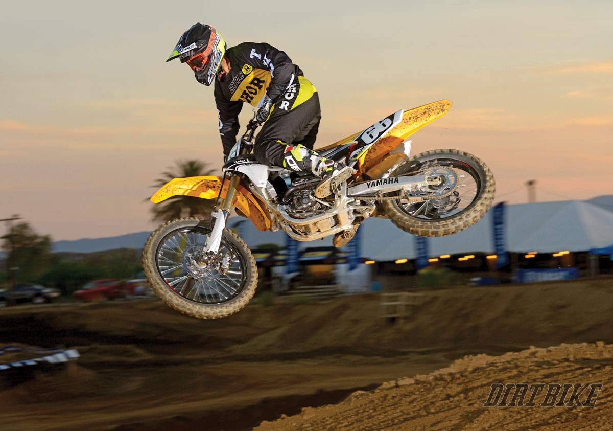 2016 yamaha yz250f full test dirt bike magazine for Yamaha mini dirt bikes