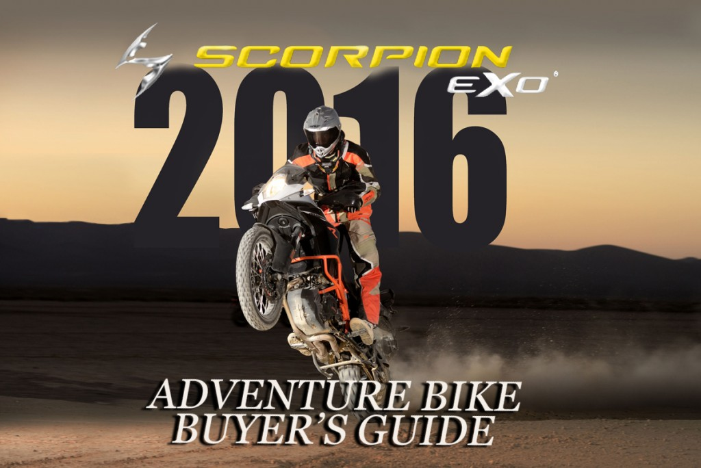 2016 adventure bike buyer s guide dirt bike magazine. Black Bedroom Furniture Sets. Home Design Ideas