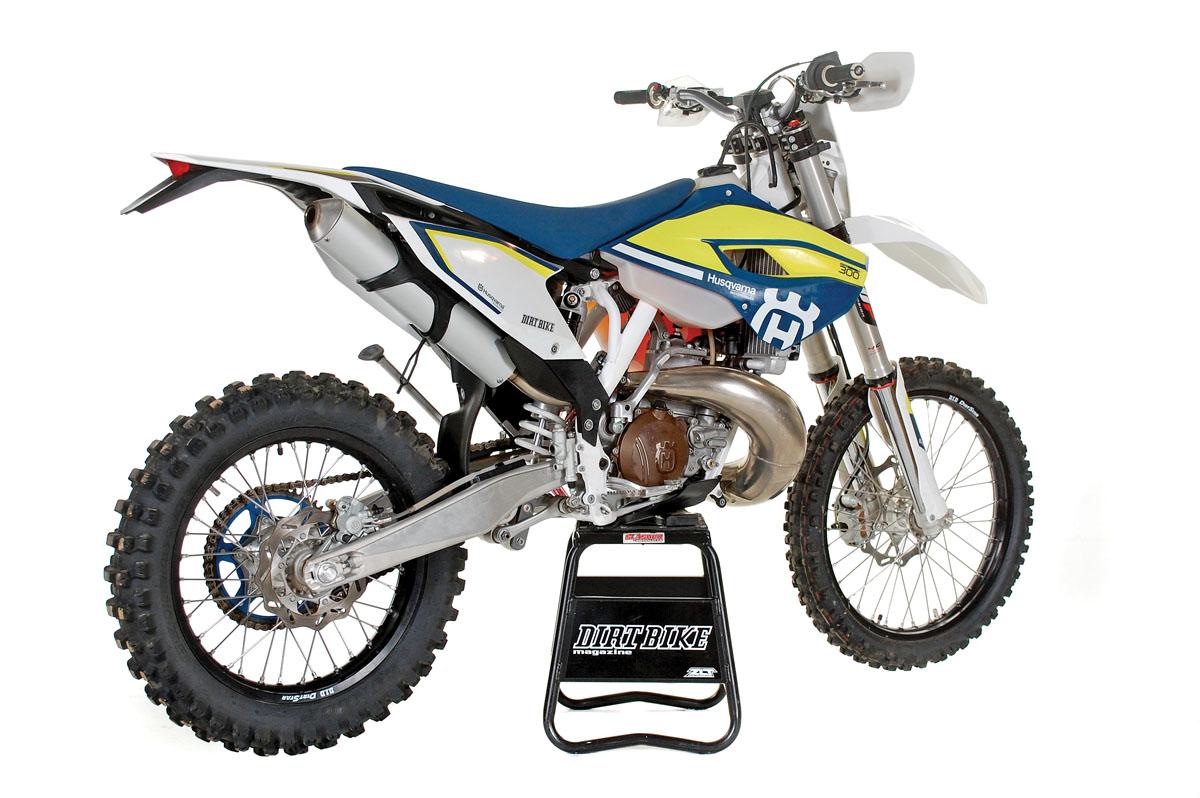HUSKY TE300 2-STROKE TEST   Dirt Bike Magazine