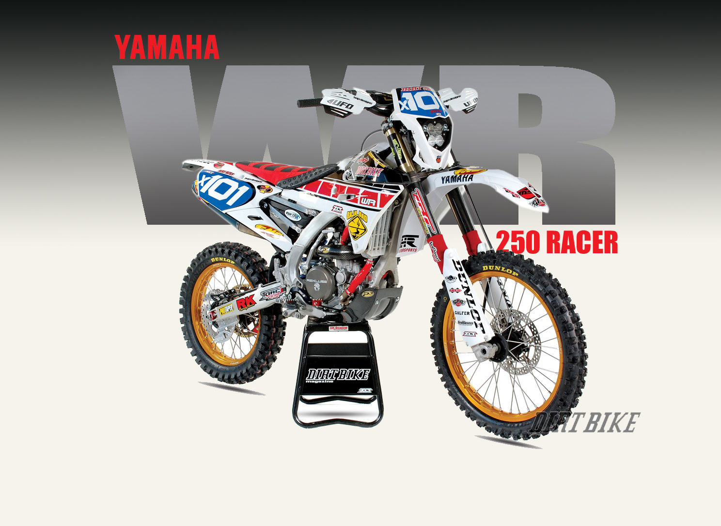 wr250 desert racer dirt bike magazine. Black Bedroom Furniture Sets. Home Design Ideas