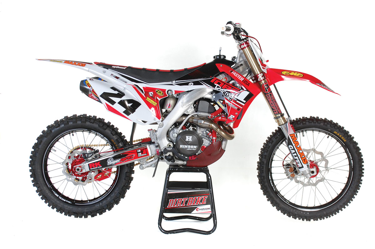 2016 Honda Crf450r Makeover Dirt Bike Magazine
