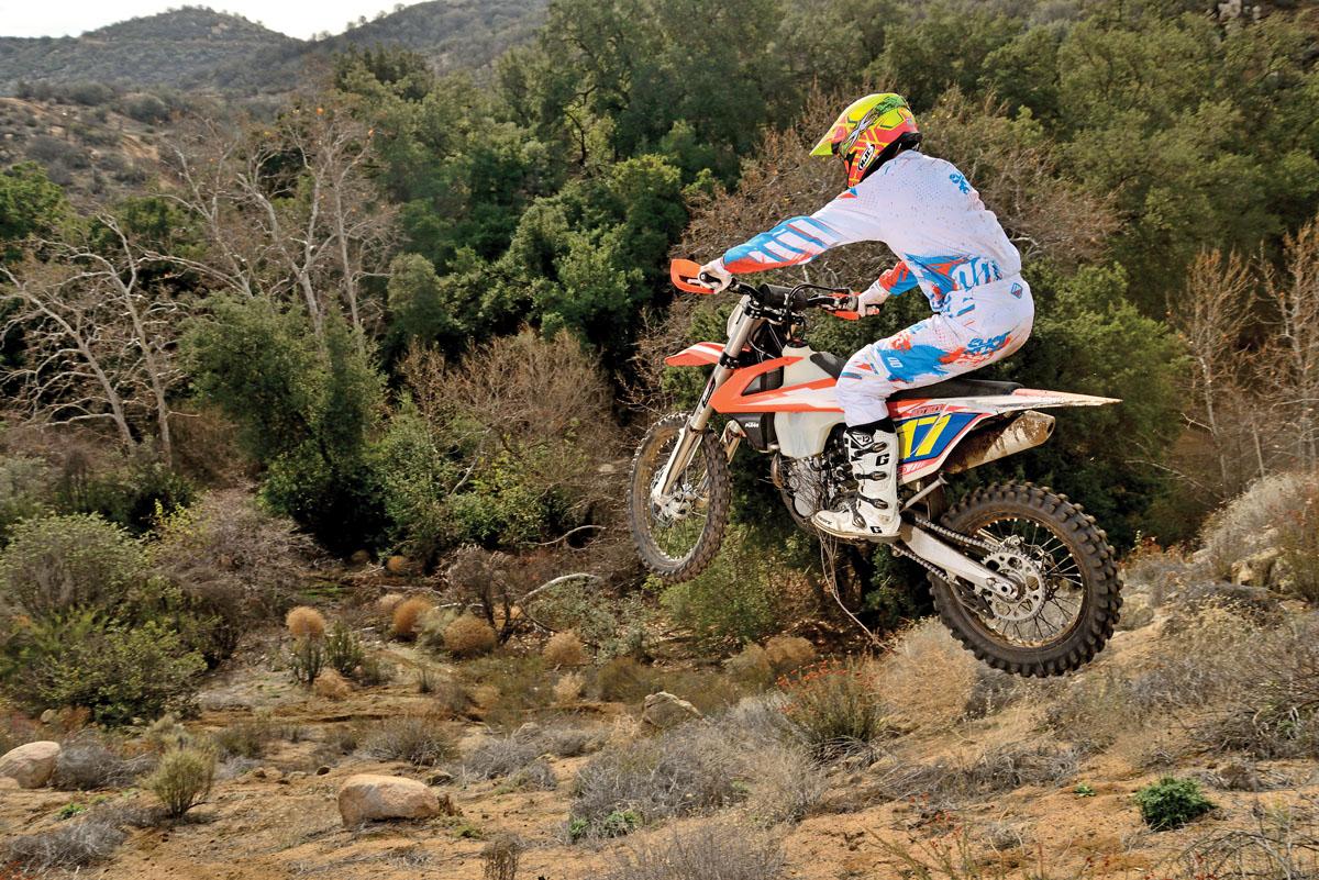 Off Road Shootout Ktm 450xc F Vs Yamaha Yz450fx Dirt Bike Magazine