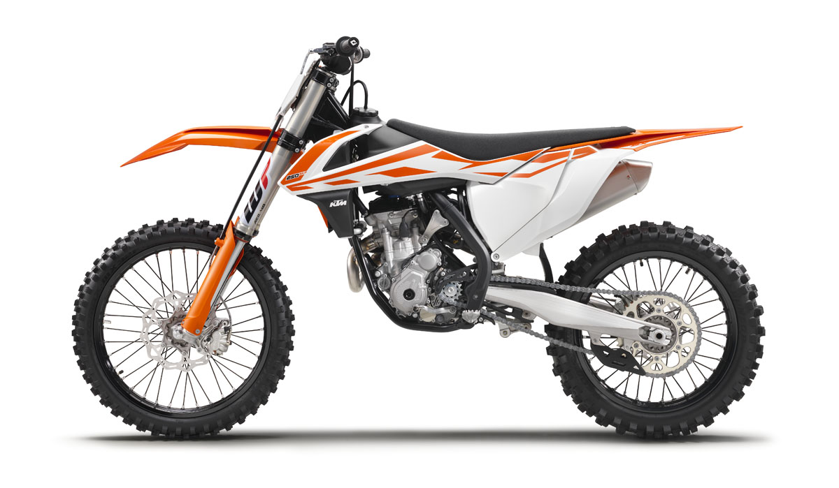 Ktm Motocross Bikes For 2017 Dirt Bike Magazine