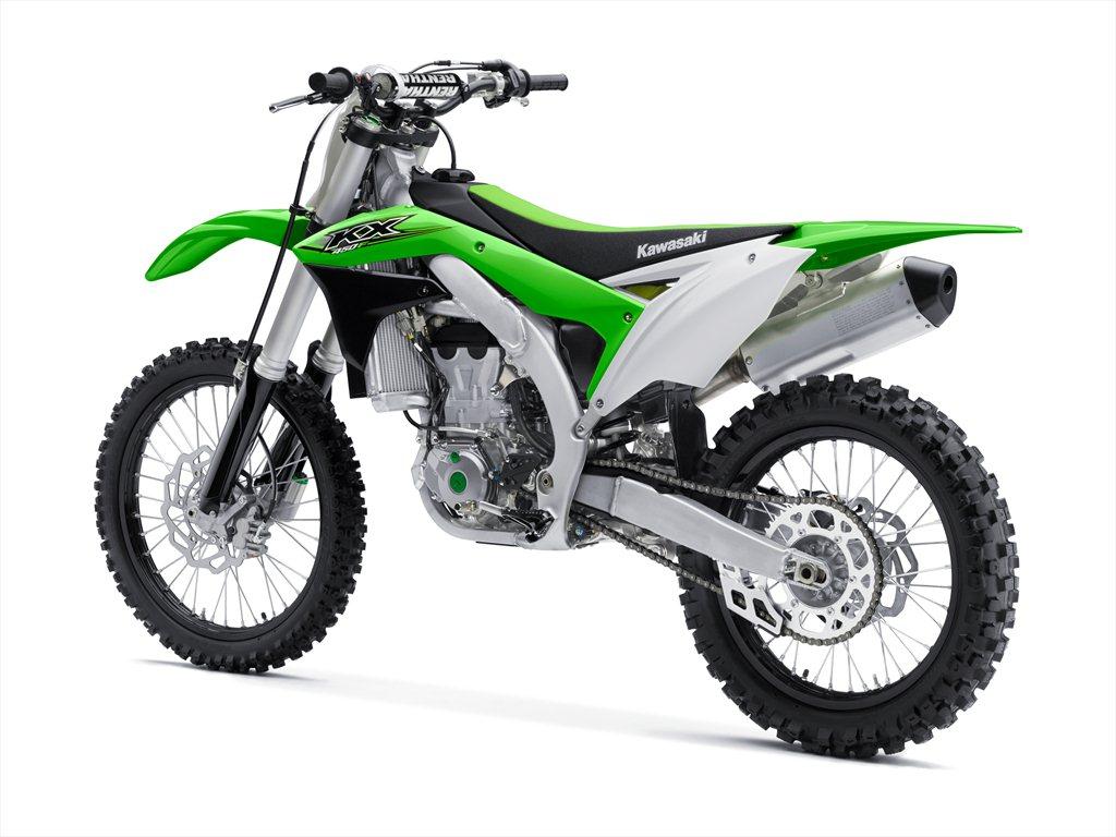 2017 Kawasaki Models Include All New Kx250f Dirt Bike