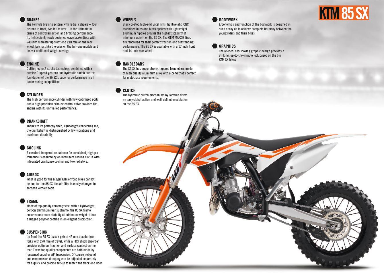 dirt bike magazine | first 2017 models: ktm 50sx, 65sx, 85sx