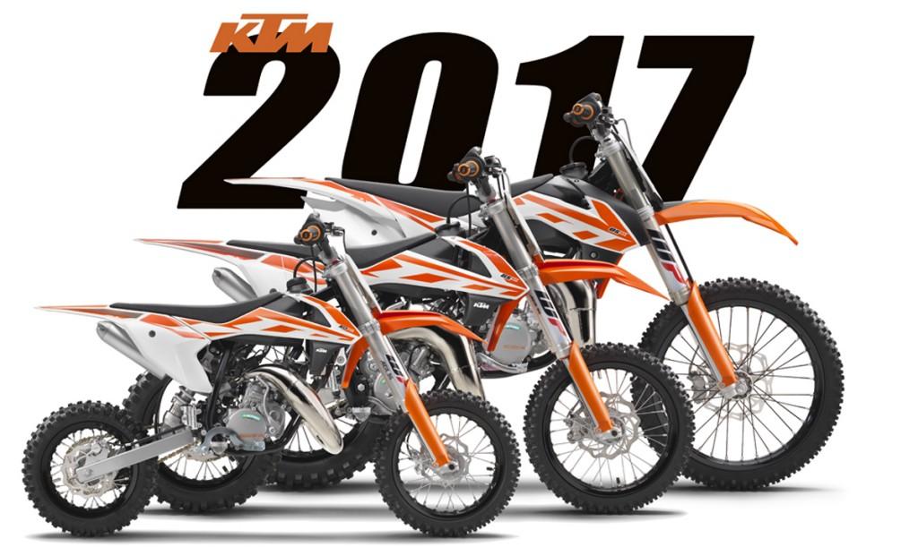 First 2017 Models Ktm 50sx 65sx 85sx Dirt Bike Magazine