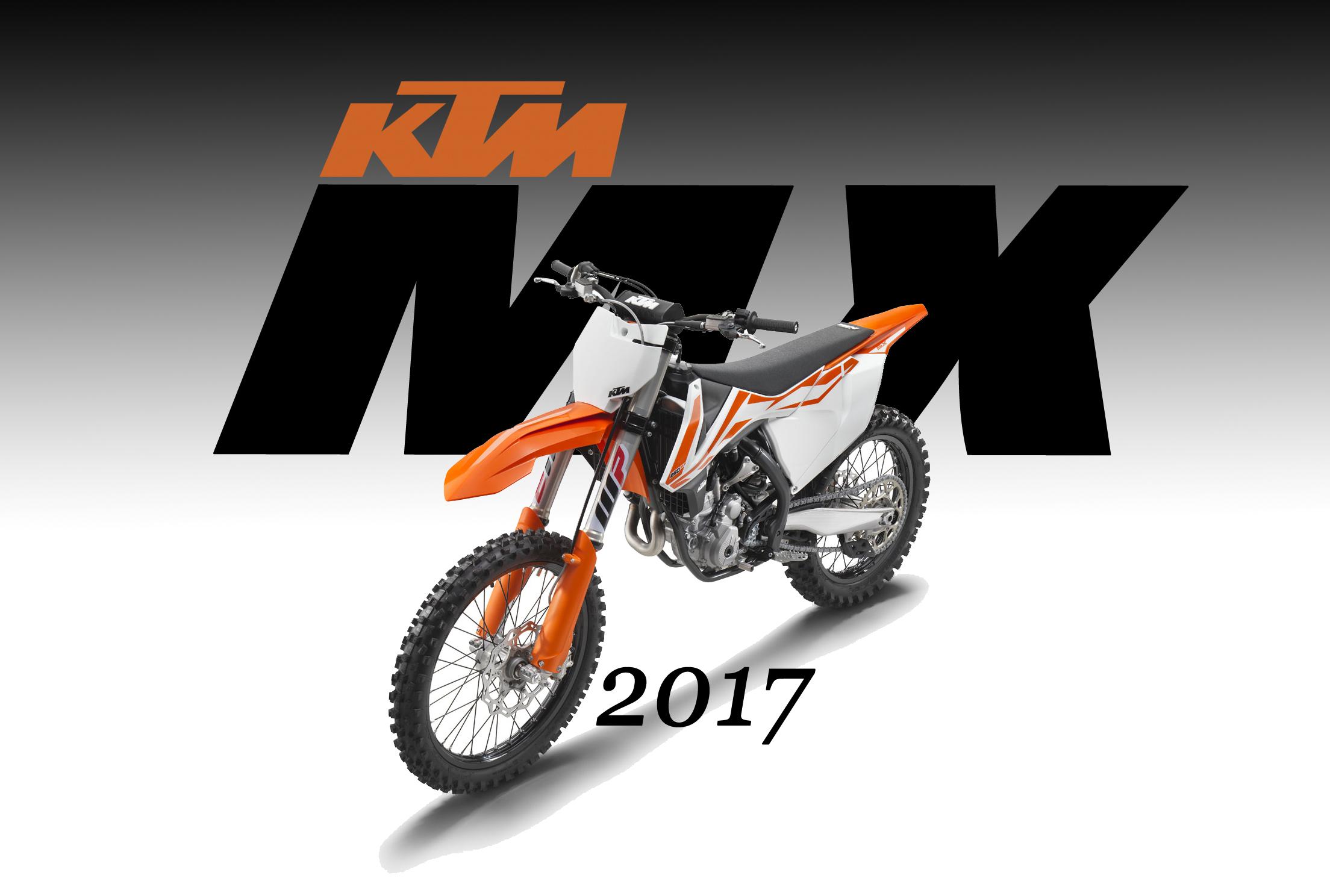 Ktm Motocross Bikes For 2017 Dirt Bike Magazine