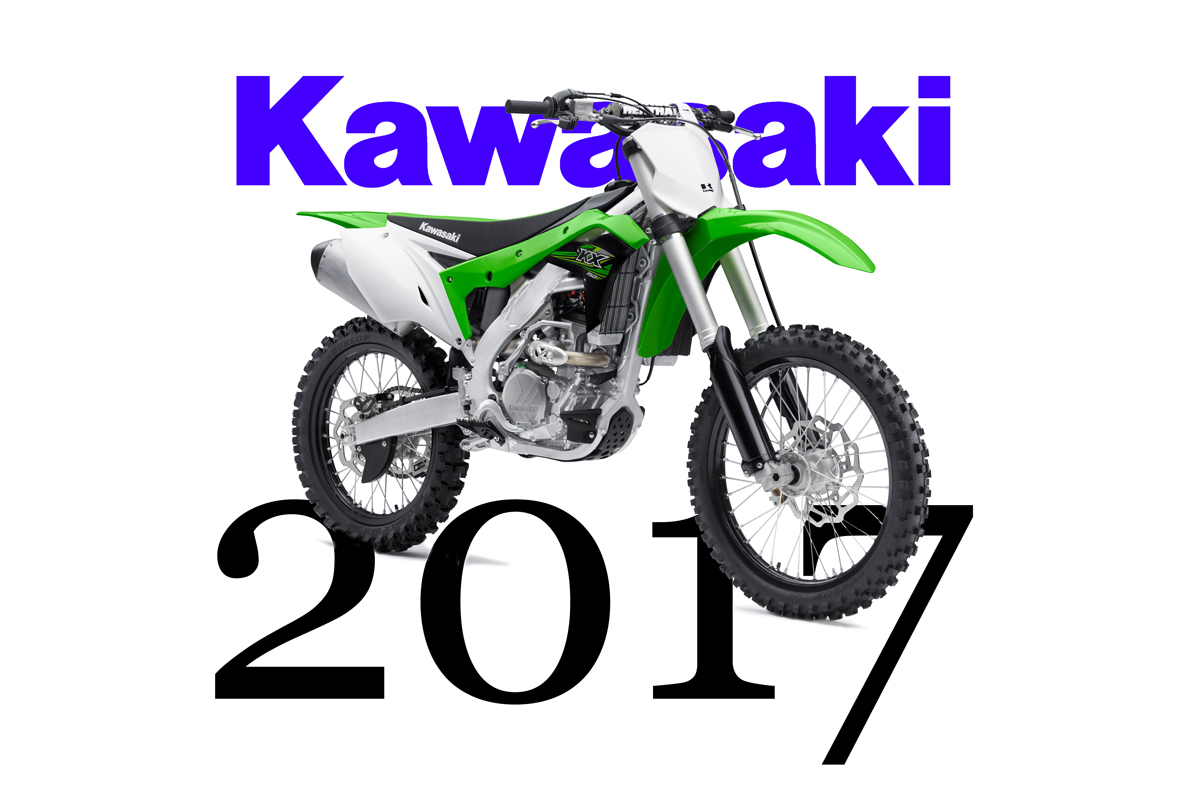 2017 kawasaki models include all new kx250f dirt bike. Black Bedroom Furniture Sets. Home Design Ideas