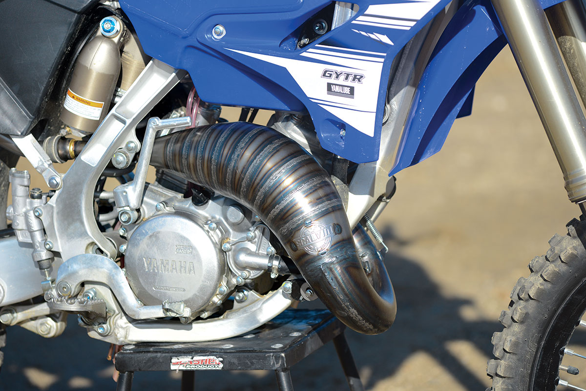 PRODUCT TEST SCALVINI YZ125 EXHAUST | Dirt Bike Magazine