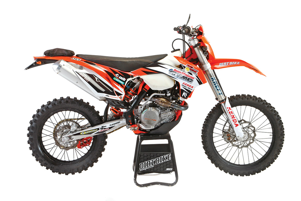 Ktm 500exc Legal Mods Dirt Bike Magazine Fe 501 Wiring Diagram Kreft Pretty Much Reworks The Wp Fork And Pds Damper Its Bottoming Control System Provides