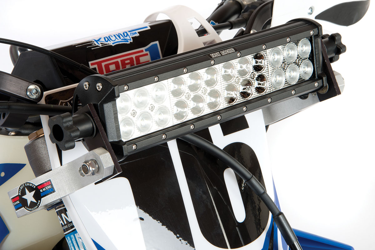 Task racing 12 inch rechargeable light bar kit dirt bike magazine task racing 12 inch rechargeable light bar kit mozeypictures Gallery