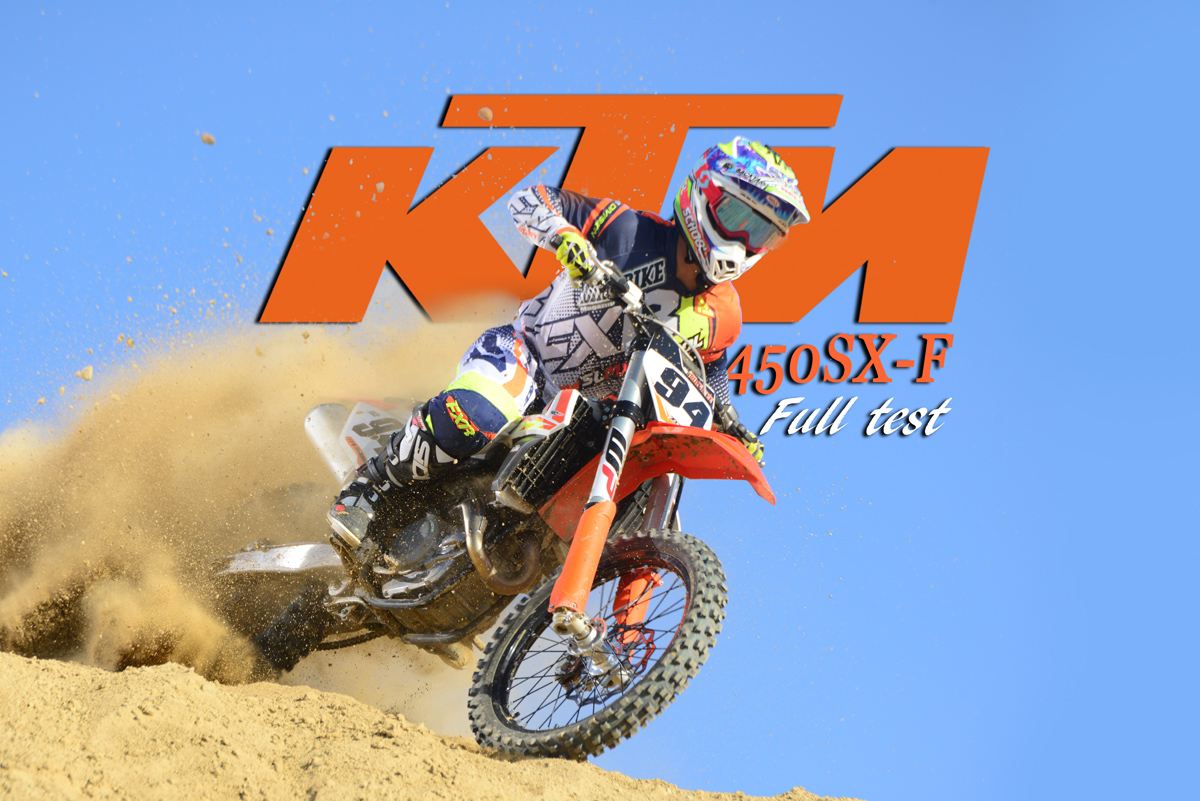 dirt bike magazine | 2017 ktm 450sx-f: full test
