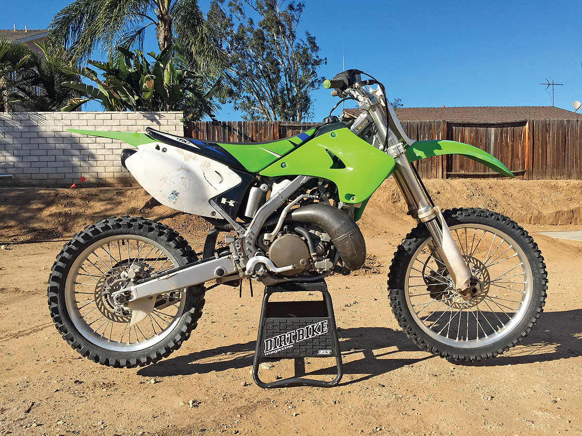 Kawasaki Kx250 Two Stroke Rebuild Dirt Bike Magazine Wiring Harness The Green Goblin As She Was Found